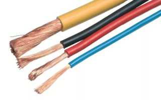 Какое сечение должно быть у кабеля для розеток