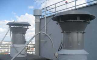Вентиляция лифтов и лифтовой шахты