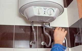 Как повесить водонагреватель на стену своими руками