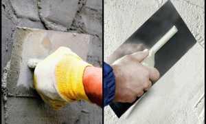 Рассмотрим какая штукатурка лучше: гипсовая или цементная