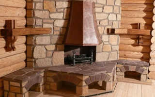 Камин в деревянном доме: установка, устройство камина из кирпича и металла, печь в срубе своими руками, как сделать кирпичный дом, установка