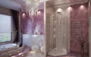 Декоративная штукатурка в ванной комнате: варианты нанесения