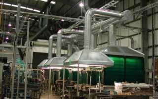 Промышленная система вентиляции зданий и вытяжных установок