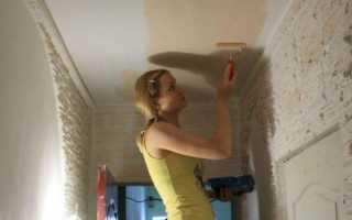 Как покрасить стены в коридоре