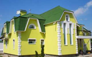 Штукатурка цветная фасадная: особенности материала и его нанесения
