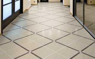 Как класть плитку на пол по диагонали: правильный прием