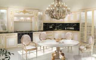 Классическая светлая и белая кухня с патиной: 60 фото классических гарнитуров