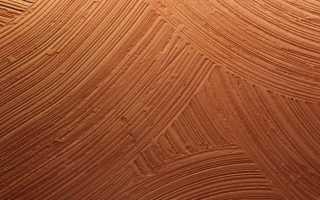 Какой может быть текстура штукатурки