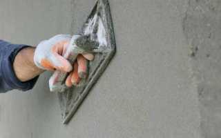 Шпатлевка по бетону для наружных работ