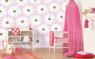 Совмещаем практичное с приятным, или какие обои выбрать для детской комнаты