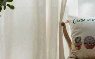 Льняные шторы – 115 идей дизайна льняных штор в современных интерьерах