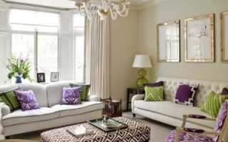 Как выбрать для гостиной дизайн обоев
