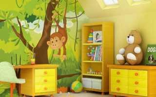 Как правильно выбрать для детской спальни обои