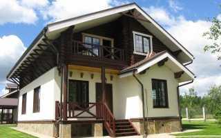 Дома в стиле шале: отделка и её особенности