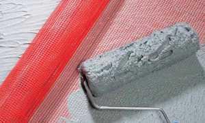 Как крепить штукатурную сетку к стене правильно