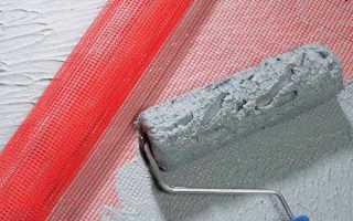 Штукатурка стен с сеткой – правила использования