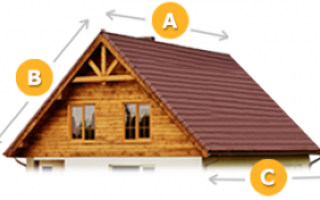 Онлайн-калькулятор расчета кровли с чертежами: как рассчитать мансардную крышу дома и рассчитать стройматериалы