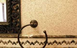 Штукатурка фасадная с мраморной крошкой: особенности использования