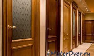 Отделка межкомнатных дверей: выбираем отделочный материал