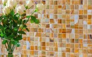 Как выполняется отделка мозаикой своими руками