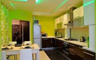 Как выбрать и сочетать цвет обоев для кухни