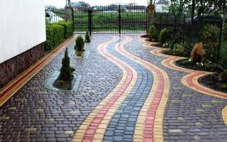 Тротуарная плитка (45 фото): технология мощения своими руками