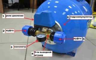 Замена гидроаккумулятора: подготовка, этапы работ и профилактика