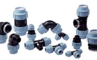 Фитинги для труб водоснабжения: назначение, материал изготовления, размеры и цены