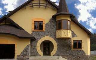 Декоративная штукатурка фасадная: варианты материала