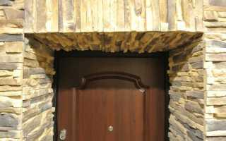 Отделка дверного проема входной двери: делаем сами