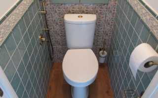 Подбираем варианты отделки туалета