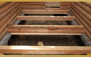 Что такое черновой пол и как его сделать в деревянном доме своими руками