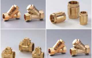 Обратный клапан для отопления: лепестковый, шаровой и их установка