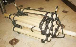 Самодельная веревочная лестница: где использовать, как сделать и какие материалы понадобятся