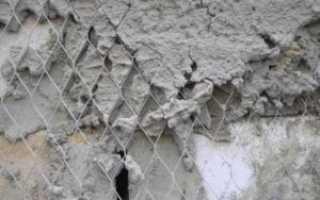 Штукатурная сетка стальная: особенности использования