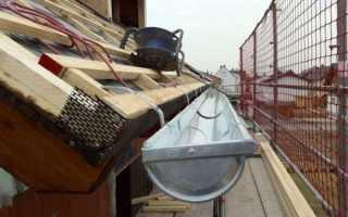 Отмет водосточной трубы: выбор отлива и правильная установка