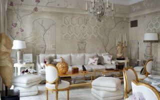 Стены в гостиной: рассмотрим варианты отделки