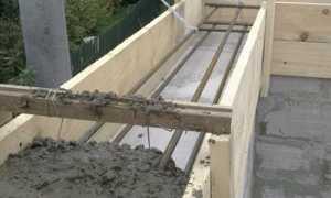 Готовим бетон на армопояс сами. Пропорции бетона.