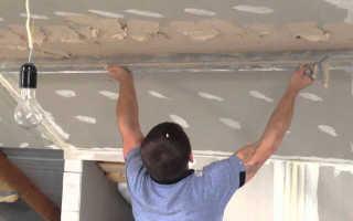 Какую выбрать штукатурку для потолка