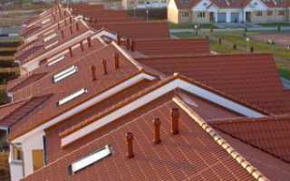Вентиляция мягкой кровли и крыши из металлочерепицы