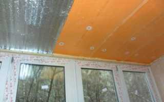 Как изолировать потолок на балконе: изоляция с вашими руками Loggia, видео, фото