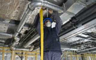 Монтаж и восстановление воздуховодов вентиляции своими руками
