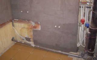 Чем штукатурить стены в ванной комнате?