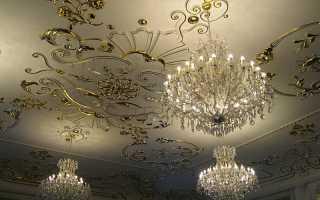 Какие существуют варианты отделки потолка