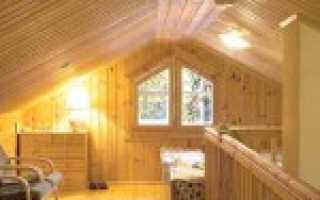 Внутренняя отделка вагонкой деревянного дома своими руками