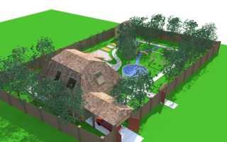 Участок 10 га (93 фото): особенности планировки и этапы благоустройства садового участка
