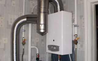 Вытяжка для газовой колонки в частном доме и квартире