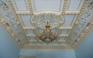 Декоративная отделка потолков своими руками