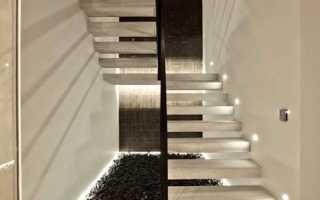 Как выполняется облицовка лестниц мрамором