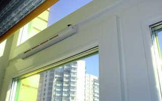 Вентиляция на балконе и лоджии своими руками